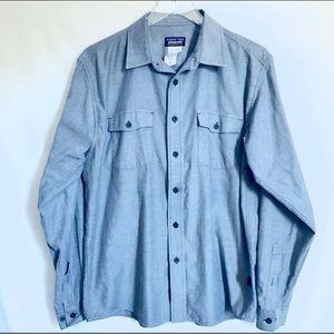 🎃Patagonia • Organic Cotton Collared Shirt